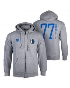 Luka Dončić 77 Dallas Mavericks N&N FZ Kapuzenjacke