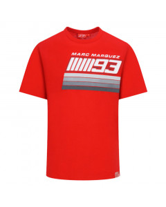 Marc Marquez MM93 Number Stripes T-Shirt
