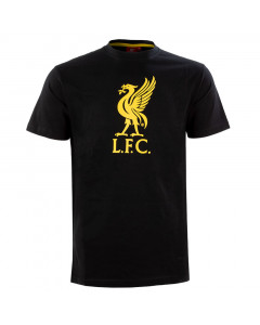 Liverpool Graphic Black T-Shirt