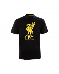 Liverpool Graphic Black Kinder T-Shirt