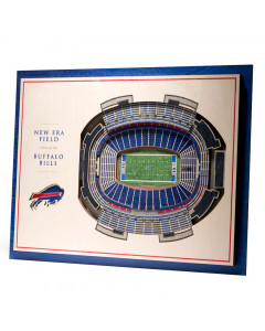 Buffalo Bills 3D Stadium View Bild