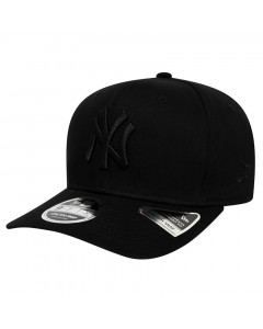 New York Yankees New Era 9FIFTY Tonal Black Stretch Snap Mütze