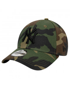 New York Yankees New Era 9FORTY League Essential Kids Camo otroška kapa