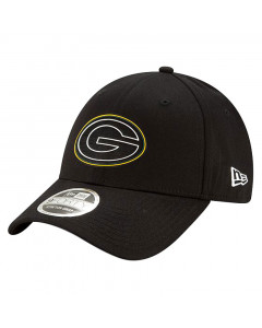 Green Bay Packers New Era 9FORTY Draft Official Stretch Snap Mütze