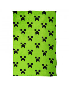 Minecraf Emerald odeja 100x150