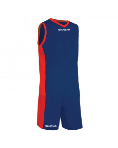 Givova KITB05-0412 Kit Power Basketball Komplet Trikot