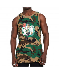 Boston Celtics New Era Camo Tank Shirt
