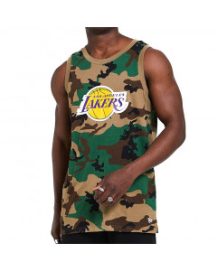 Los Angeles Lakers New Era Camo Tank Shirt