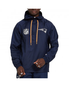 New England Patriots New Era Quarter Zip Windjacke