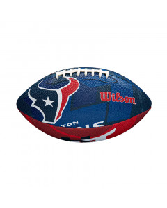 Houston Texans Wilson Team Logo Junior žoga za ameriški nogomet