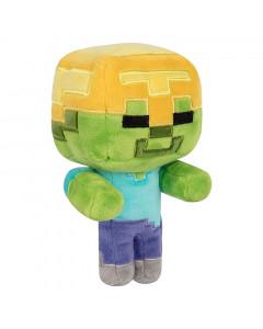 Minecraft Jinx Happy Explorer Gold Helmet Zombie plišasta igrača