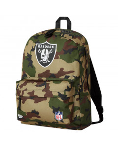 Las Vegas Raiders New Era AOP Camo Stadium Pack nahrbtnik