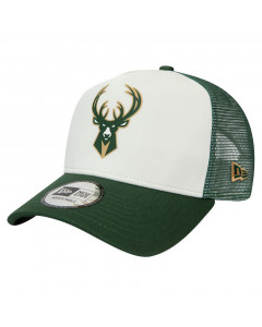 Milwaukee Bucks New Era Trucker Team Colour Block kapa