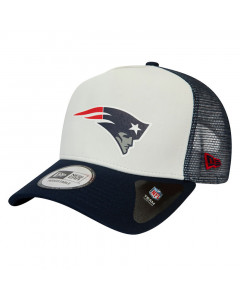 New England Patriots New Era Trucker Team Colour Block Mütze