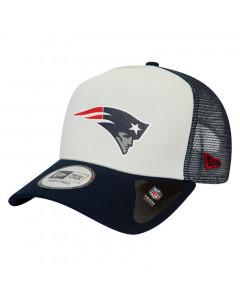 New England Patriots New Era Trucker Team Colour Block Mütze