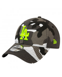 Los Angeles Dodgers New Era 9FORTY Essential Camo Neon Logo kapa