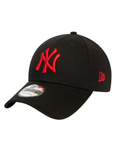 New York Yankees New Era 9FORTY Essential Red Logo Mütze