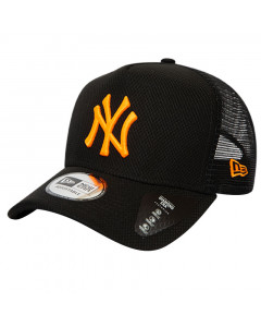 New York Yankees New Era Trucker Diamond Era Neon Logo Mütze