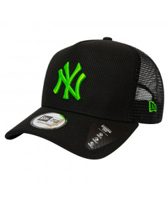 New York Yankees New Era Trucker Diamond Era Green Logo kapa
