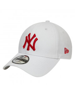 New York Yankees New Era 9FORTY League Essential Red Logo Mütze
