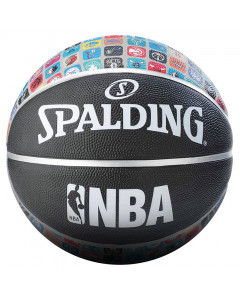Spalding NBA Team logo Basketball Ball 7