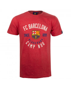 FC Barcelona Record Red T-Shirt