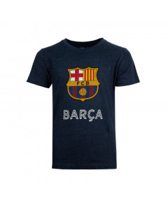 FC Barcelona Grey Kinder T-Shirt