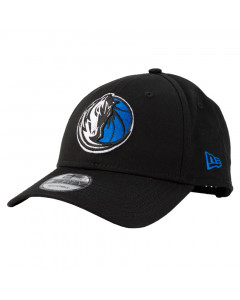 Dallas Mavericks New Era 9FORTY Basic Black Mütze