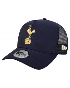 Tottenham Hotspur New Era 9FORTY TruckerA-Frame Gold Cockerel Mütze