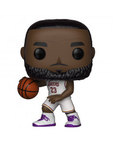 LeBron James 23 Los Angeles Lakers (White Uniform) Funko POP! Figur