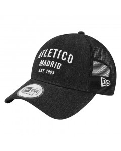 Atletico de Madrid New Era A-Frame Trucker Denim kapa