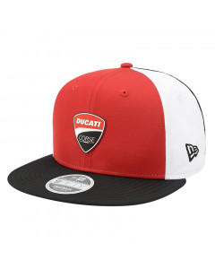 Ducati Corse New Era 9FIFTY Multibadge Mütze
