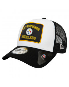 Pittsburgh Steelers New Era 9FORTY A-Frame Trucker Graphic Patch kapa