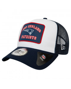 New England Patriots New Era 9FORTY A-Frame Trucker Graphic Patch kapa