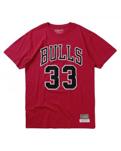 Chicago Bulls Number 33 Mitchell & Ness Last Dance T-Shirt