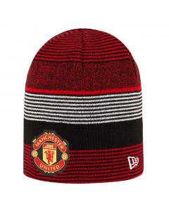Manchester United New Era Skull obojestranska zimska kapa