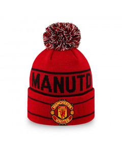 Manchester United New Era Wordmark Youth Kinder Wintermütze