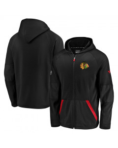 Chicago Blackhawks Rinkside Gridback Kapuzenjacke