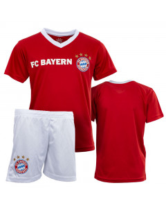 FC Bayern München Poly Kit Kinder Training Trikot Komplet Set