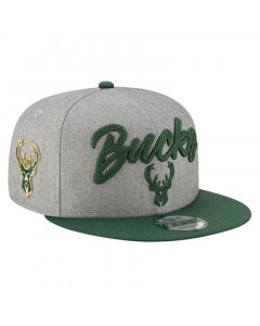 Milwaukee Bucks New Era 9FIFTY 2020 NBA Official Draft Mütze
