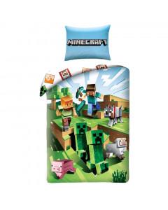 Minecraft Bettwäsche zweiseitig 140x200