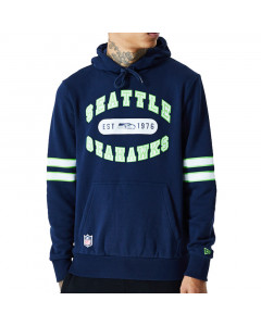 Seattle Seahawks New Era Wordmark Graphic Kapuzenjacke