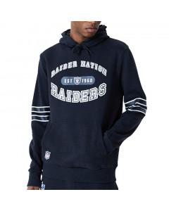 Las Vegas Raiders New Era Wordmark Graphic Kapuzenjacke