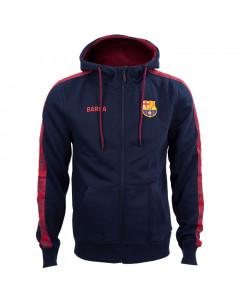 FC Barcelona Tape Kapuzenjacke N°4