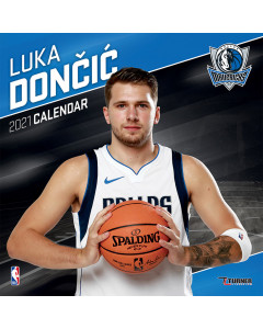 Luka Dončić Dallas Mavericks Kalender 2021