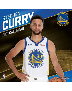 Stephen Curry Golden State Warriors Kalender 2021