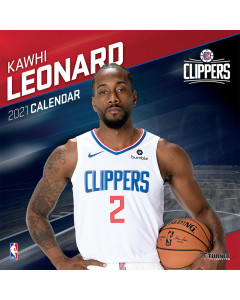 Kawhi Leonard Los Angeles Clippers koledar 2021