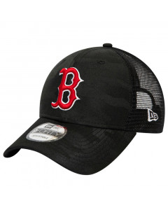 Boston Red Sox New Era 9FORTY Trucker Seasonal The League Black Camo Mütze