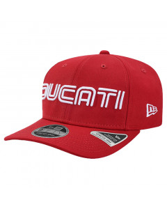 Ducati New Era 9FIFTY Wordmark Stretch Snap Mütze