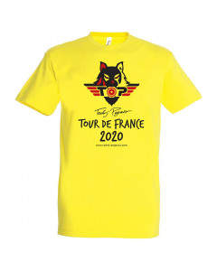 Tadej Pogačar Toure de France 2020 Champion T-Shirt